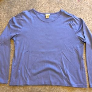 LL Bean supremacy Cotton long sleeve T-shirt